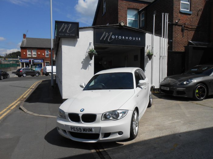 BMW 1 Series 2.0 118d M Sport 5dr Hatchback Diesel White