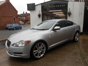 Jaguar XF 3.0d V6 S Premium Luxury 4dr Auto Saloon Diesel Silver at Motorhouse Cheshire Stockport