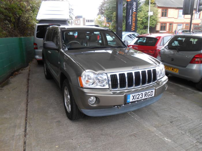 Jeep Grand Cherokee 3.0 CRD Limited 5dr Auto Estate Diesel Green