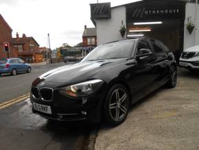BMW 1 Series 2.0 116d Sport 5dr Hatchback Diesel Black at Motorhouse Cheshire Stockport