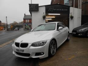 BMW 3 Series 2.0 320d M Sport 2dr Convertible Diesel White at Motorhouse Cheshire Stockport