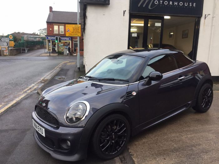 Mini Coupe 1.6 Cooper 3dr Coupe Petrol Grey
