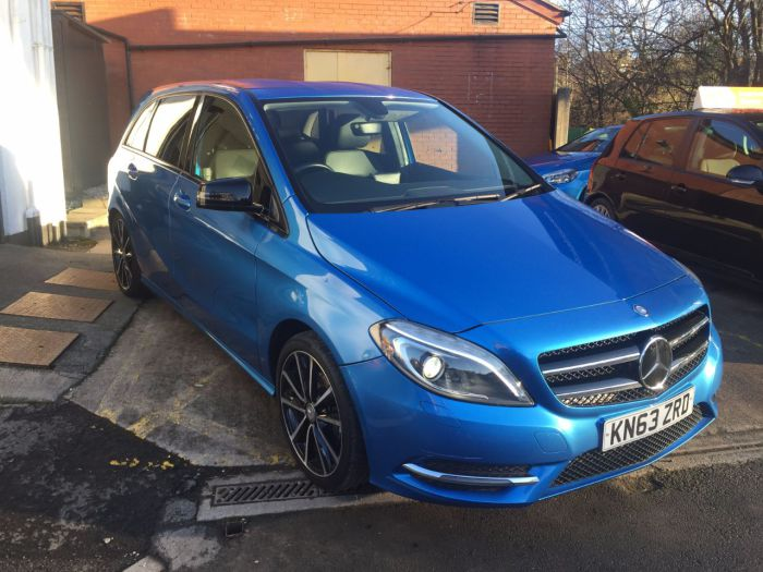 Mercedes-Benz B Class 1.8 B180 CDI BlueEFFICIENCY Sport 5dr Auto MPV Diesel Blue