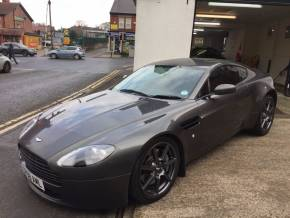 Aston Martin Vantage 4.3 2dr Hatchback Petrol Silver at Motorhouse Cheshire Stockport