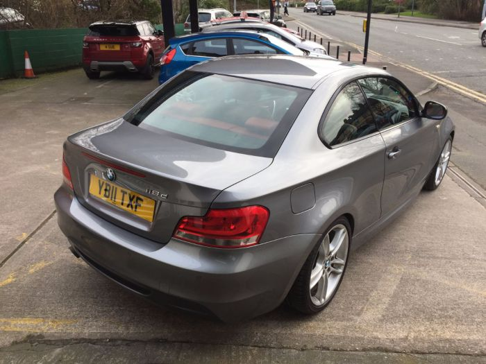 BMW 1 Series 2.0 118d M Sport 2dr Coupe Diesel Grey