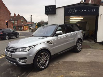 Land Rover Range Rover Sport 3.0 SDV6 [306] HSE 5dr Auto Estate Diesel SilverLand Rover Range Rover Sport 3.0 SDV6 [306] HSE 5dr Auto Estate Diesel Silver at Motorhouse Cheshire Stockport