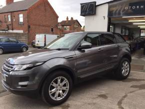 Land Rover Range Rover Evoque 2.2 SD4 Pure 5dr [Tech Pack] Estate Diesel Grey at Motorhouse Cheshire Stockport
