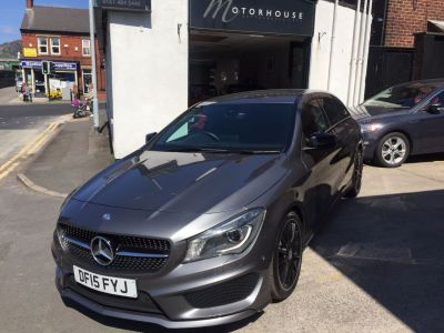 Mercedes-Benz Cla Class 1.6 CLA 180 AMG Sport/S/BRAKE 5dr Tip Auto Estate Petrol GreyMercedes-Benz Cla Class 1.6 CLA 180 AMG Sport/S/BRAKE 5dr Tip Auto Estate Petrol Grey at Motorhouse Cheshire Stockport