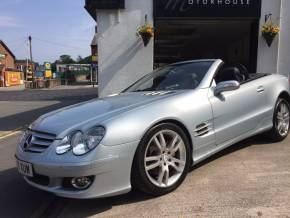 Mercedes-Benz SL Series 3.5 SL 350 [272] 2dr Tip Auto Convertible Petrol Silver at Motorhouse Cheshire Stockport