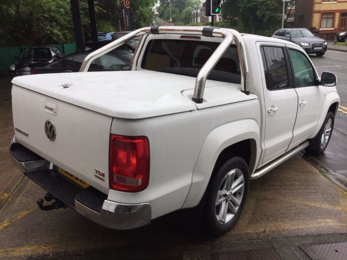 Volkswagen Amarok D/Cab Pick Up Highline 2.0 BiTDI 180 BMT 4MTN Auto Pick Up Diesel White
