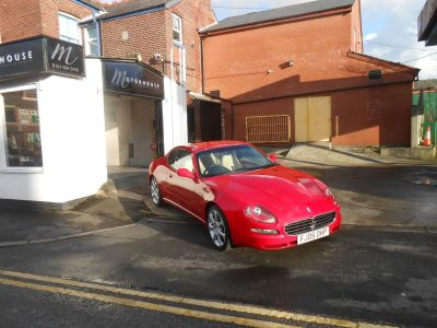 Maserati 4200 4.2 GT 2dr Coupe Petrol RedMaserati 4200 4.2 GT 2dr Coupe Petrol Red at Motorhouse Cheshire Stockport