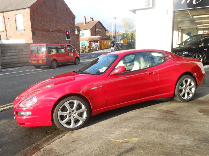 Maserati 4200 4.2 GT 2dr Coupe Petrol Red