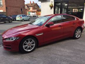 Jaguar XE 2.0d [180] Prestige 4dr Saloon Diesel Red at Motorhouse Cheshire Stockport