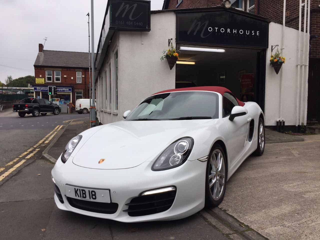 Porsche Boxster 2.7 2dr PDK Convertible Petrol White at Motorhouse Cheshire Stockport