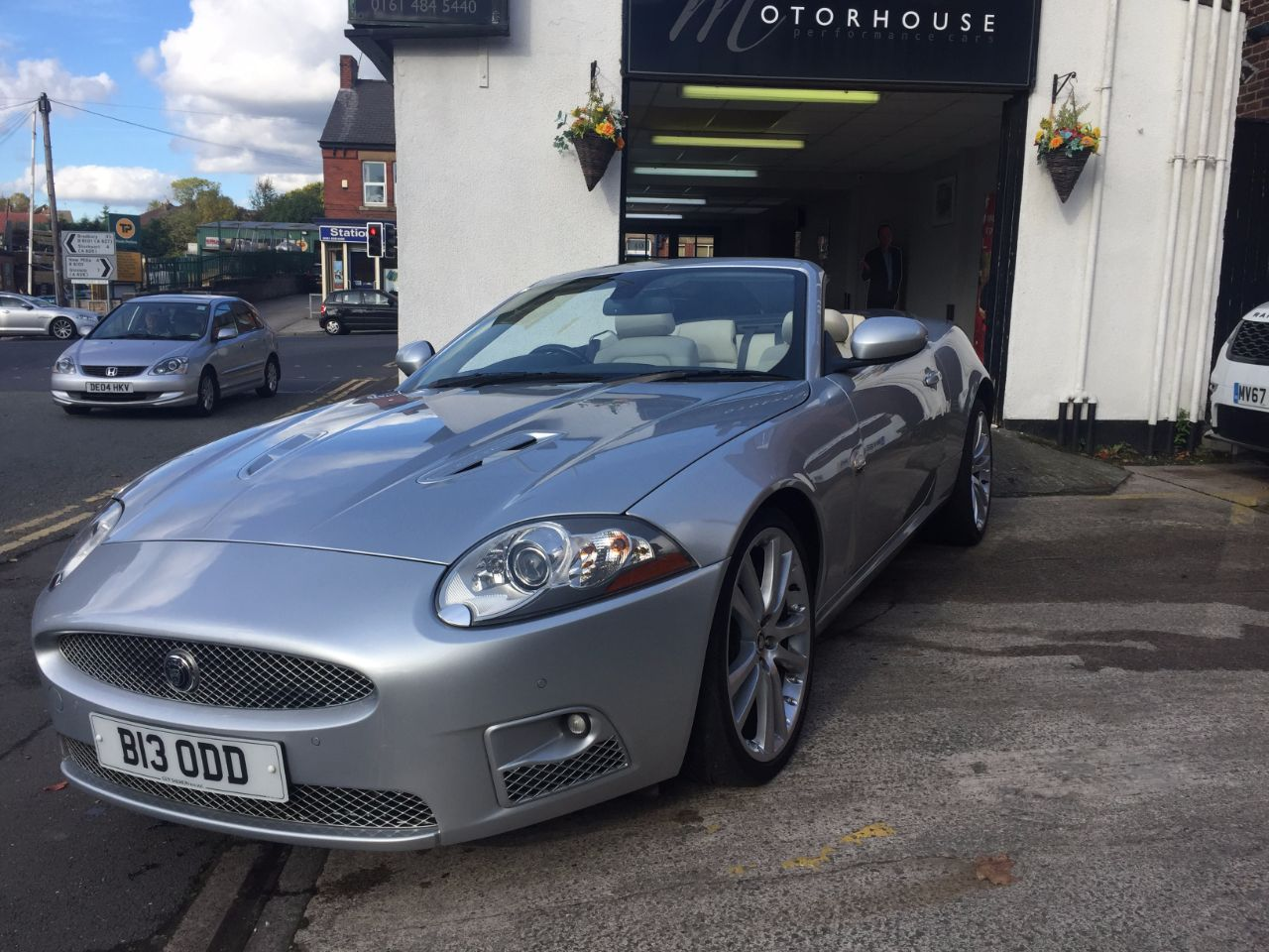 Jaguar Xkr 4.2 Supercharged V8 2dr Auto Convertible Petrol Silver at Motorhouse Cheshire Stockport