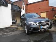 Audi Q5 2.0 TDI Quattro S Line 5dr S Tronic Estate Diesel GreyAudi Q5 2.0 TDI Quattro S Line 5dr S Tronic Estate Diesel Grey at Motorhouse Cheshire Stockport