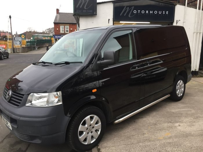 Volkswagen Transporter 2.5TDI PD 174PS Van Panel Van Diesel Black