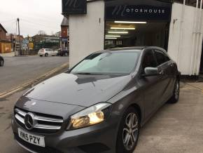 Mercedes-Benz A Class A180 [1.5] CDI Sport 5dr Auto Hatchback Diesel Grey at Motorhouse Cheshire Stockport
