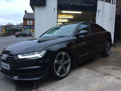 Audi A6 2.0 TDI Ultra Black Edition 4dr S Tronic Saloon Diesel BlackAudi A6 2.0 TDI Ultra Black Edition 4dr S Tronic Saloon Diesel Black at Motorhouse Cheshire Stockport