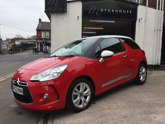 Citroen DS3 1.6 e-HDi Airdream DStyle 3dr Hatchback Diesel Red