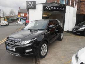Land Rover Range Rover Evoque 2.2 SD4 Pure (TECH PACK) 5dr Four Wheel Drive Diesel Black at Motorhouse Cheshire Stockport