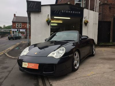 Porsche 911 3.6 S 2dr Convertible Petrol GreyPorsche 911 3.6 S 2dr Convertible Petrol Grey at Motorhouse Cheshire Stockport