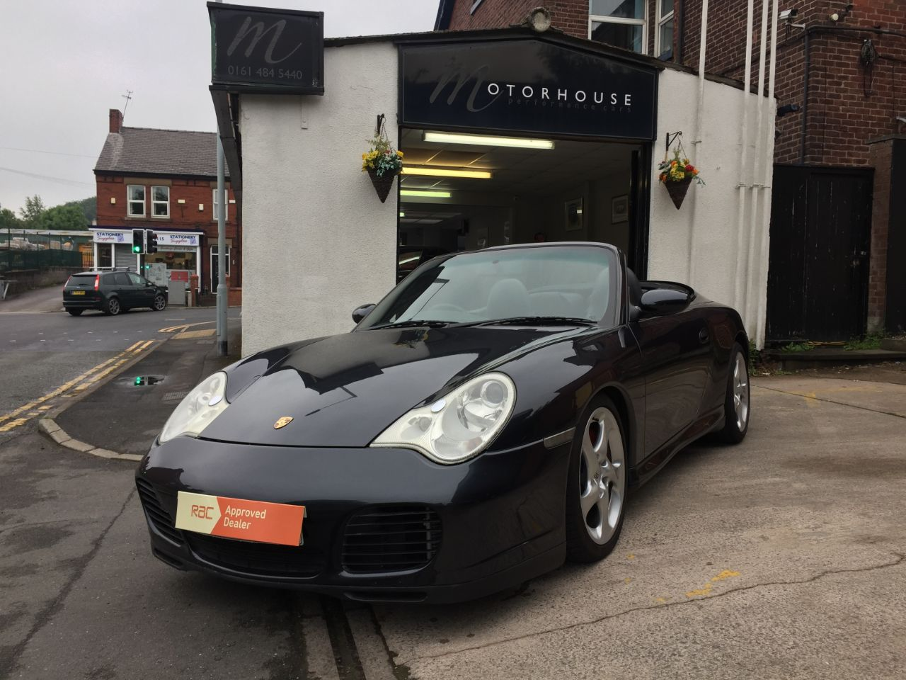 Porsche 911 3.6 S 2dr Convertible Petrol Grey at Motorhouse Cheshire Stockport