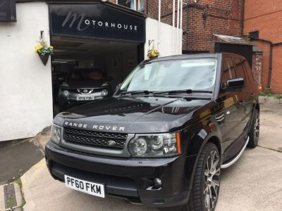 Land Rover Range Rover Sport 3.0 TDV6 HSE 5dr CommandShift Estate Diesel BlackLand Rover Range Rover Sport 3.0 TDV6 HSE 5dr CommandShift Estate Diesel Black at Motorhouse Cheshire Stockport