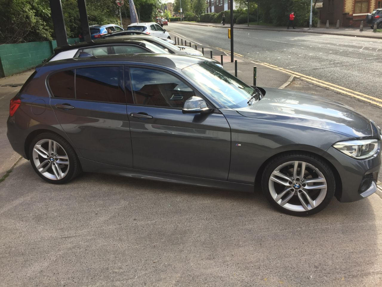 BMW 1 Series 1.5 116d M Sport 5dr Hatchback Diesel Grey at Motorhouse Cheshire Stockport