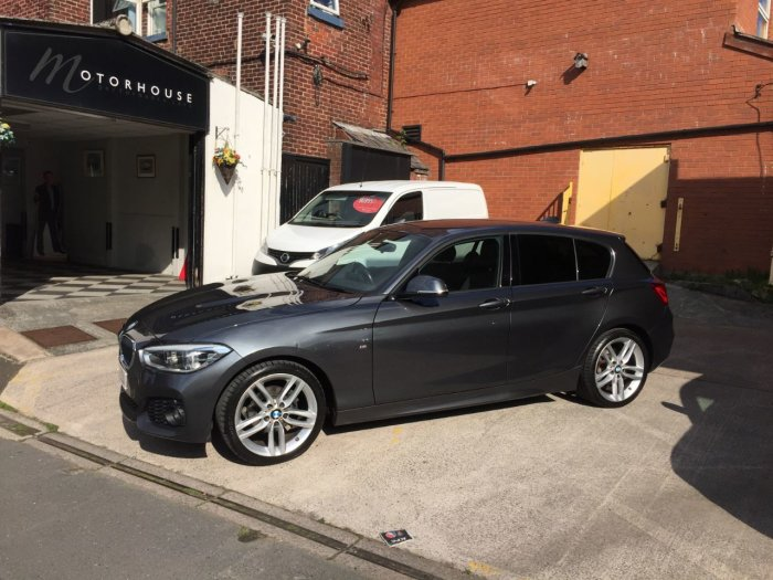 BMW 1 Series 1.5 116d M Sport 5dr Hatchback Diesel Grey