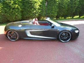 Audi R8 5.2 FSI QUATTRO 2DR/ABT 600BHP Convertible Petrol Grey at Motorhouse Cheshire Stockport
