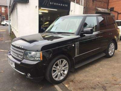 Land Rover Range Rover 3.6 TDV8 Vogue 4dr Auto Estate Diesel BlackLand Rover Range Rover 3.6 TDV8 Vogue 4dr Auto Estate Diesel Black at Motorhouse Cheshire Stockport