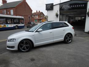 Audi A3 2.0 TDI 170 SE 5dr S Tronic [Start Stop] Hatchback Diesel White at Motorhouse Cheshire Stockport