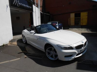 BMW Z4 2.0 20i sDrive M Sport 2dr Convertible Petrol WhiteBMW Z4 2.0 20i sDrive M Sport 2dr Convertible Petrol White at Motorhouse Cheshire Stockport