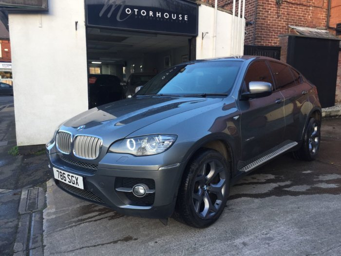 BMW X6 3.0 xDrive35d 5dr Step Auto Coupe Diesel Grey
