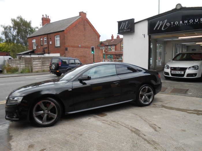 Audi A5 2.0 TDI Quattro Black Edition 2dr [Start Stop] Coupe Diesel Black