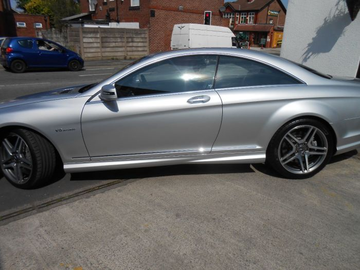 Mercedes-Benz CL 5.5 CL 63 AMG Bi-Turbo 2dr Auto Coupe Petrol Silver