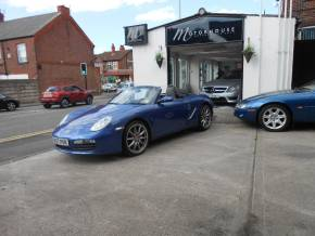 Porsche Boxster 3.4 S 2dr Convertible Petrol Blue at Motorhouse Cheshire Stockport