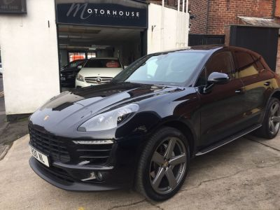 Porsche Macan 3.0 S Diesel 5dr PDK Estate Diesel BlackPorsche Macan 3.0 S Diesel 5dr PDK Estate Diesel Black at Motorhouse Cheshire Stockport
