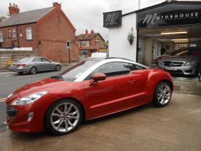 Peugeot RCZ 1.6 THP GT [200] 2dr Coupe Petrol Red at Motorhouse Cheshire Stockport
