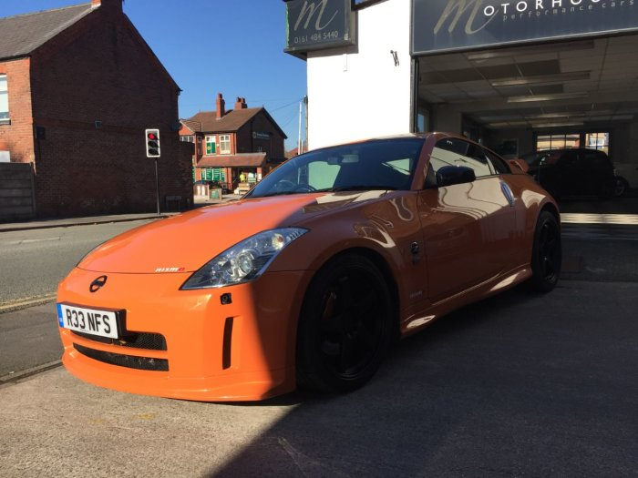 Nissan 350Z 3.5 V6 313 GT 3dr Sports Petrol Red