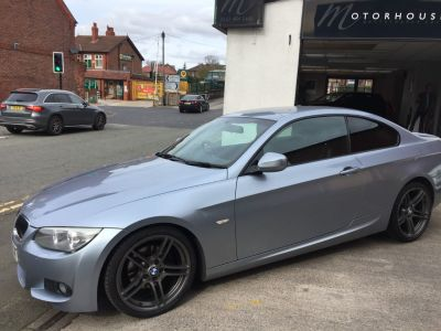 BMW 3 Series 2.0 320d M Sport 2dr Step Auto Coupe Diesel BlueBMW 3 Series 2.0 320d M Sport 2dr Step Auto Coupe Diesel Blue at Motorhouse Cheshire Stockport