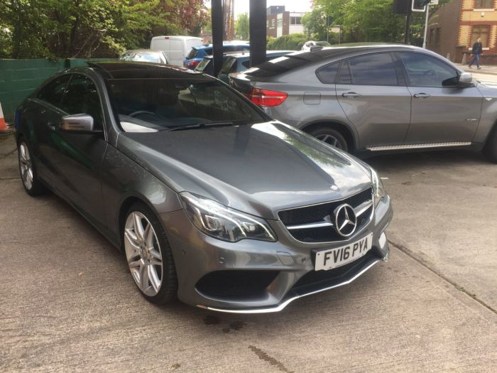 Mercedes-Benz E Class 2.1 E220d AMG Line Edition 2dr 7G-Tronic Coupe Diesel Grey