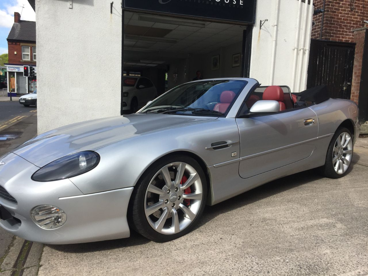 Aston Martin DB7 5.9 V12 Vantage Volante 2dr Auto Convertible Petrol Silver at Motorhouse Cheshire Stockport