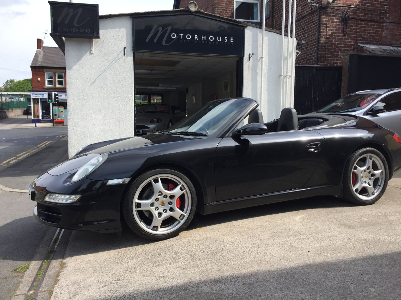 Porsche 911 3.8 Carrera S Convertible Petrol Black at Motorhouse Cheshire Stockport