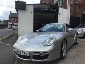 Porsche Cayman 3.4 S 2dr Coupe Petrol Silver at Motorhouse Cheshire Stockport