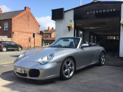 Porsche 911 3.6 2dr S Tiptronic S Convertible Petrol SilverPorsche 911 3.6 2dr S Tiptronic S Convertible Petrol Silver at Motorhouse Cheshire Stockport