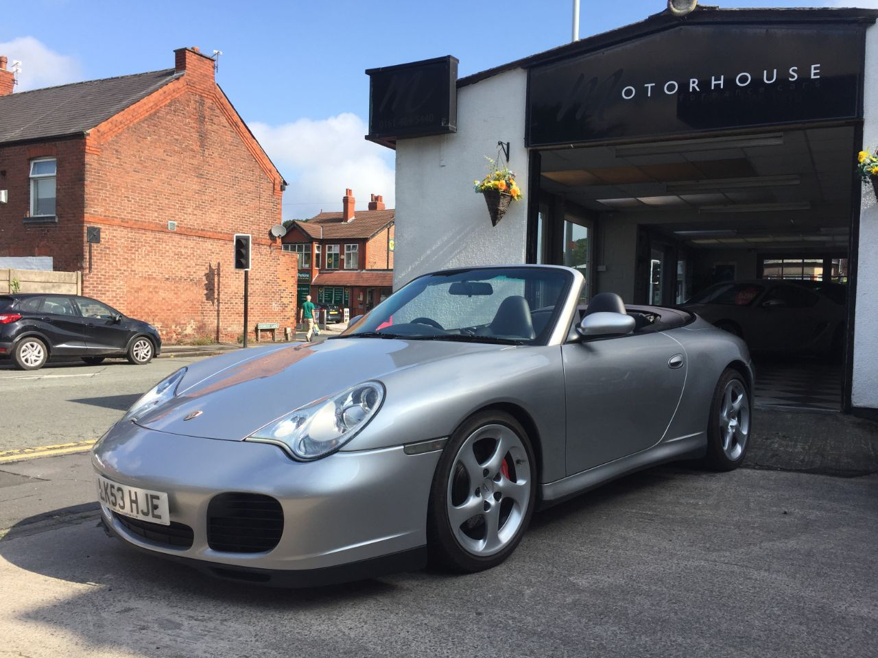 Porsche 911 3.6 2dr S Tiptronic S Convertible Petrol Silver at Motorhouse Cheshire Stockport