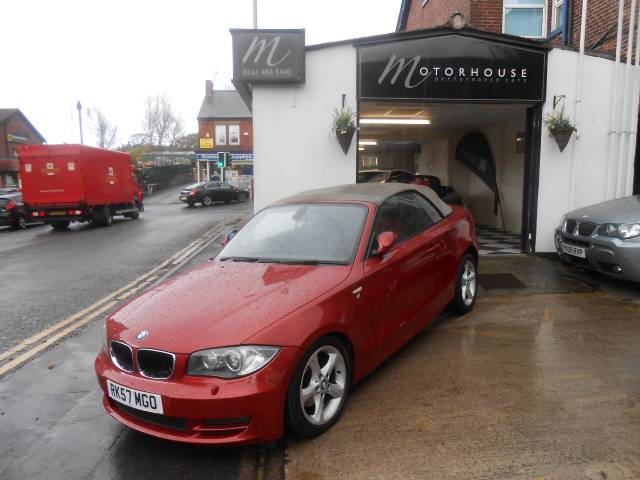 BMW 1 Series 2.0 DEPOSIT TAKEN !!!! Convertible Diesel Sedona Red
