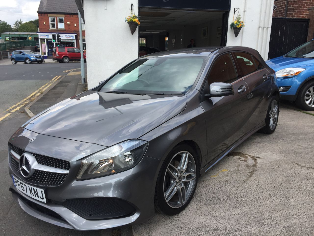 Mercedes-Benz A Class 1.6 A160 AMG Line 5dr Hatchback Petrol Grey at Motorhouse Cheshire Stockport
